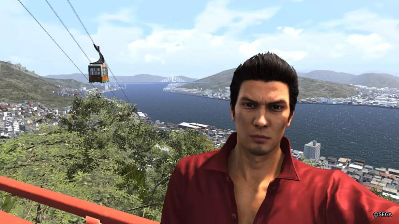 Ryū ga Gotoku 6 Screenshot - Senkoji Ropeway.