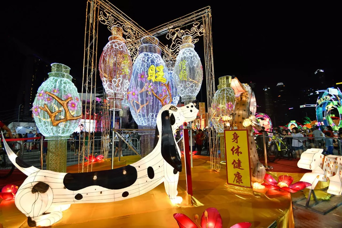 River Hongbao 2018 lantern displays.