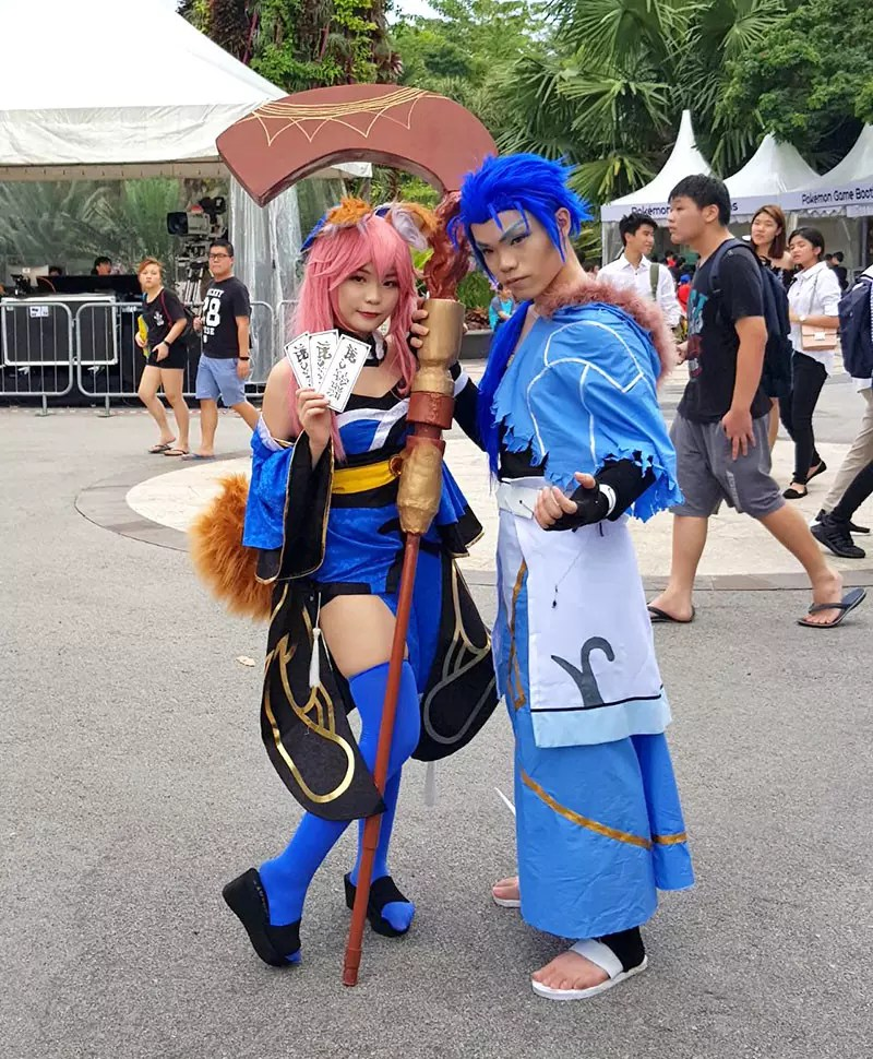 Gardens by the Bay Cosplay
