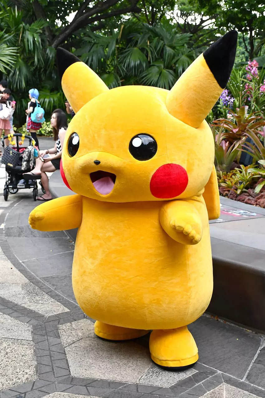 Pikachu Parade at Gardens by the Bay