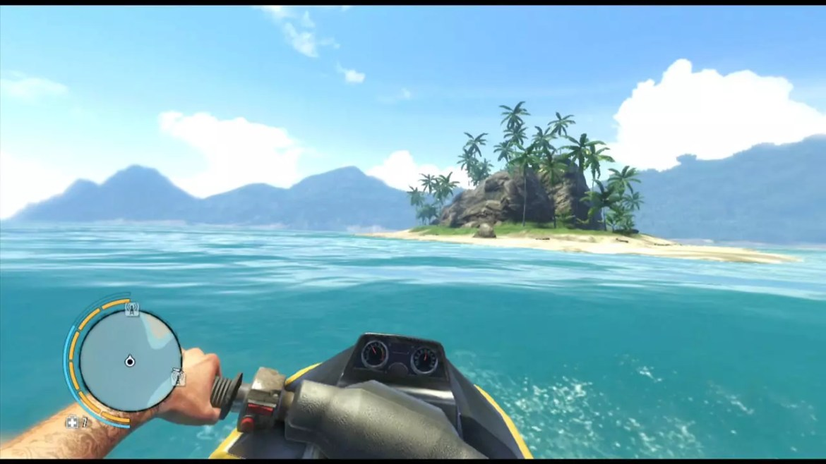 Far Cry 3 Hilltop Jet Skiing.