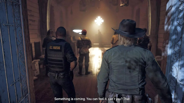 Far Cry 5 opening scene.