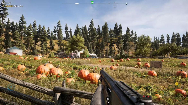 Far Cry 5 Pumpkin Farm.