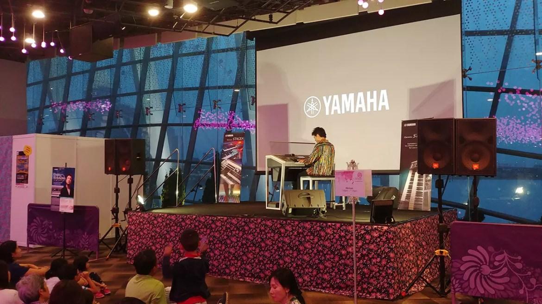 Yamaha Electone Performance by Daiju Kurasawa at Gardens by the Bay.