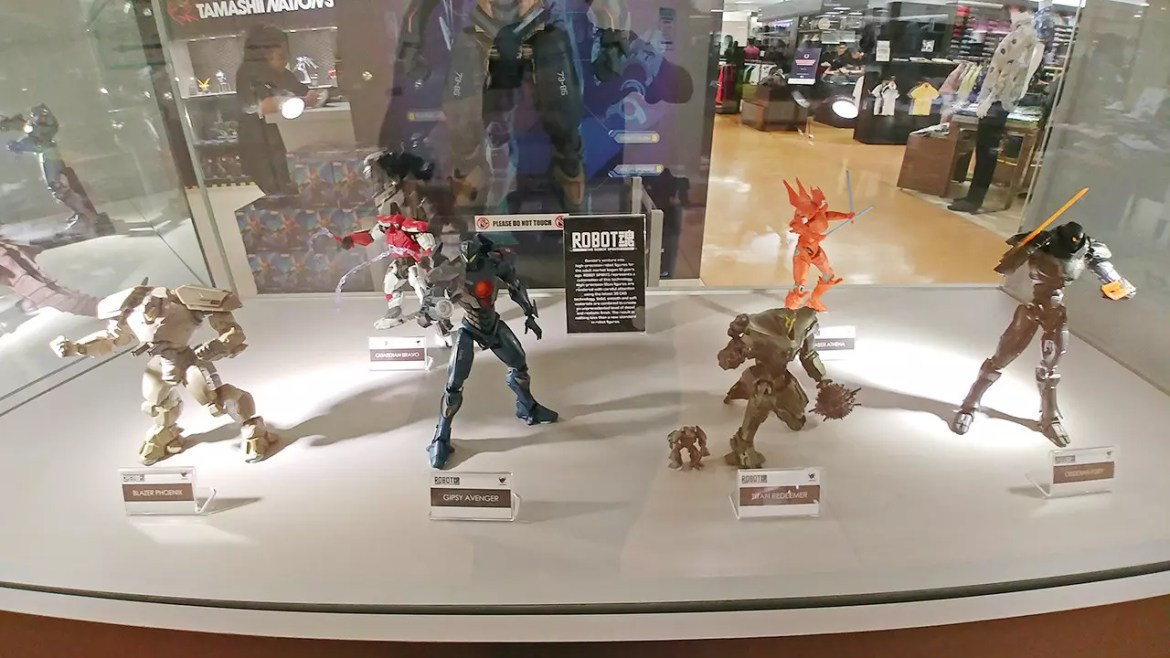 Pacific Rim: Uprising Collectibles.