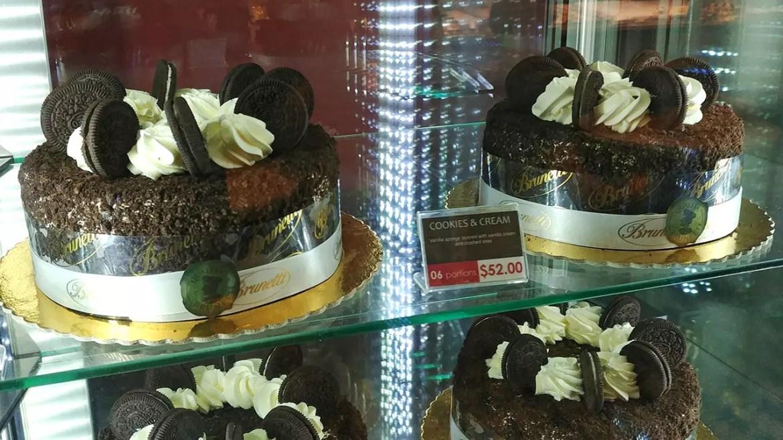 Brunetti Singapore Cookies & Cream Cake