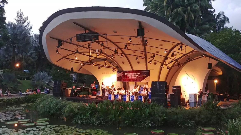 Duke Ellington Orchestra at Singapore Botanic Gardens