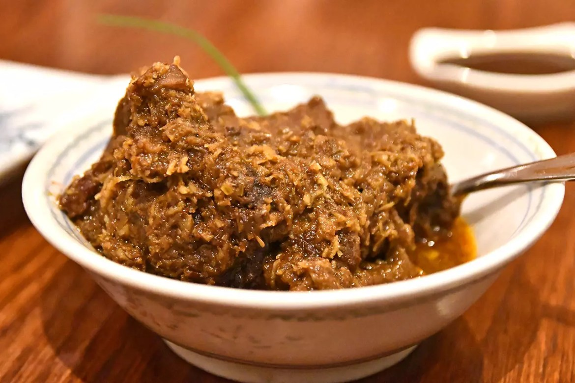 Indocafé - The White House Wagyu Beef Rendang.