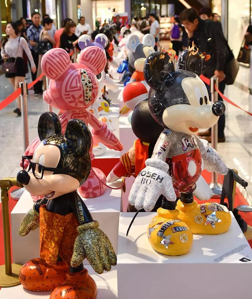 Mickey Mouse at Raffles City
