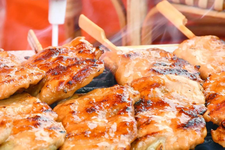 Azalea Thai Sweet Treats Pork Skewers