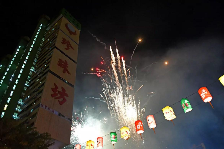 Singapore Chinatown Fireworks