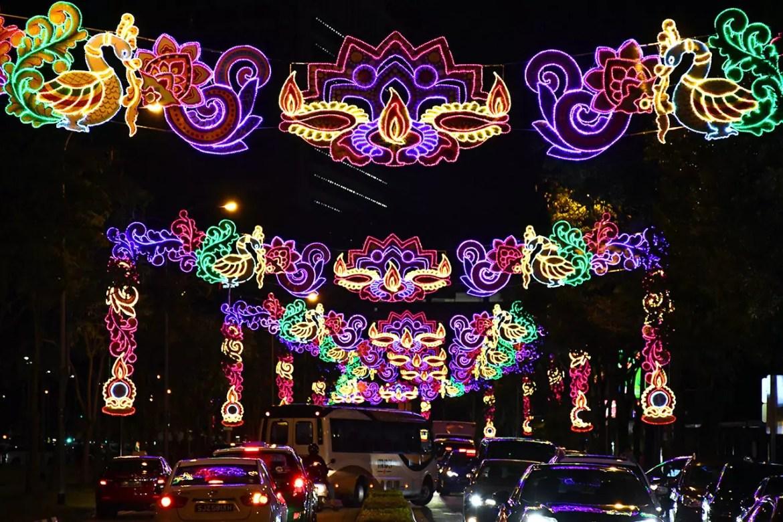 Race Course Road Deepavali Decorations.