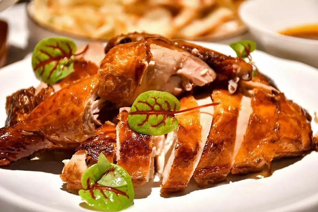 Mala Crispy Roasted Chicken at Crystal Jade Jiang Nan VivoCity.