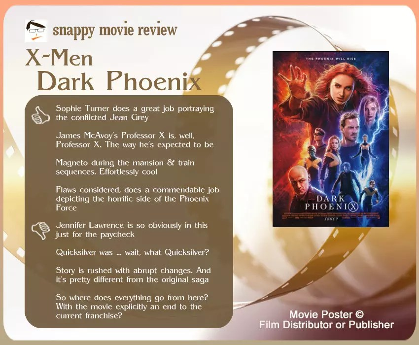 X-Men: Dark Phoenix Review: 4 thumbs-up and 4 thumbs-down