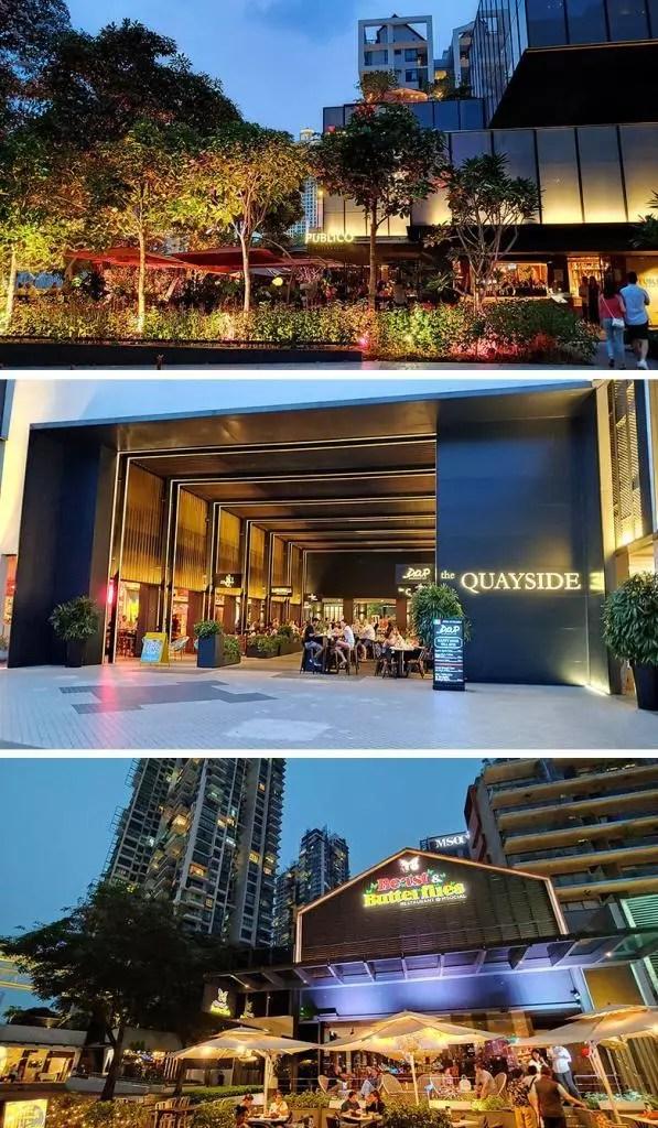 Robertson Quay Restaurants.