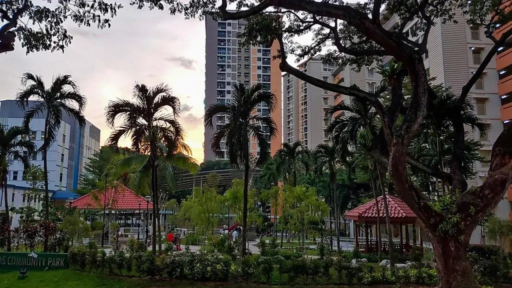 Park Beside Radin Mas Community Club