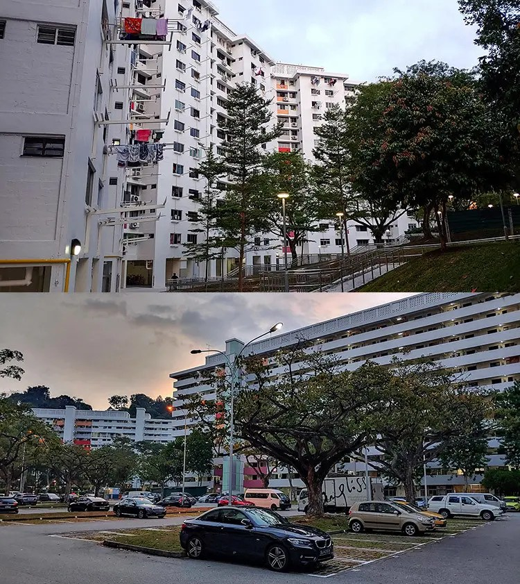 Telok Blangah Rise HDB Blocks