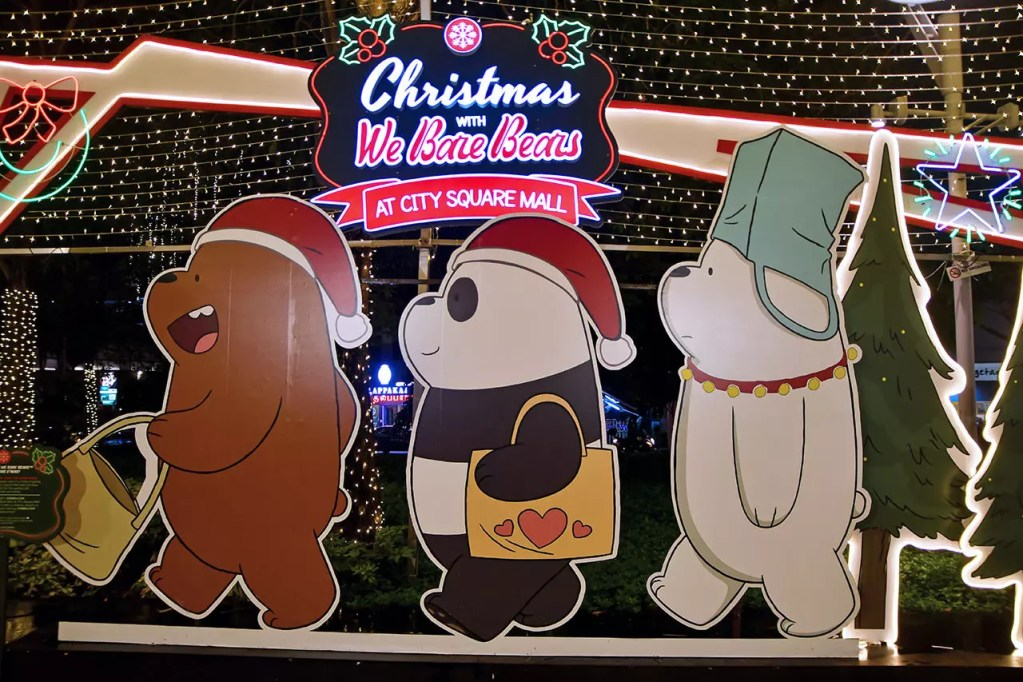 Christmas with We Bare Bears