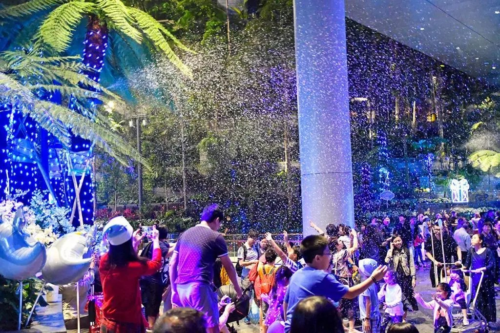 A Frozen Wonderland at Changi Airport
