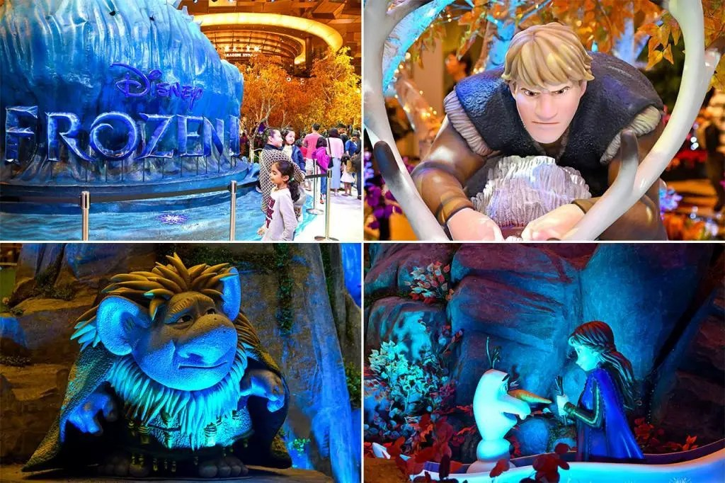 A Frozen Wonderland at Changi Airport Terminal 3