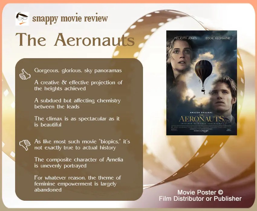 The Aeronauts Review: 4 thumbs-up and 3 thumbs-down