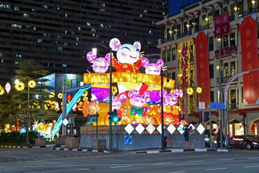 Chinatown Light-Up 2020.