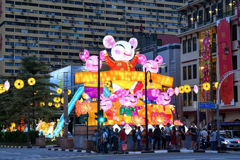 Chinatown Chinese New Year 2020 Main Display