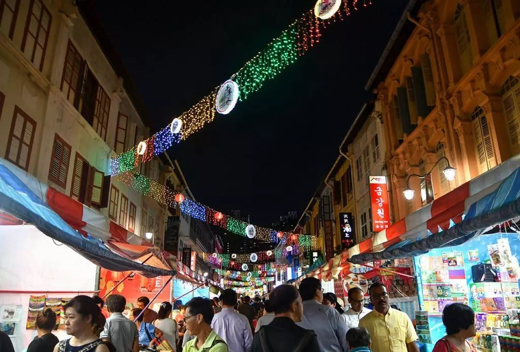 Chinatown Festive Street Bazaar 2020.