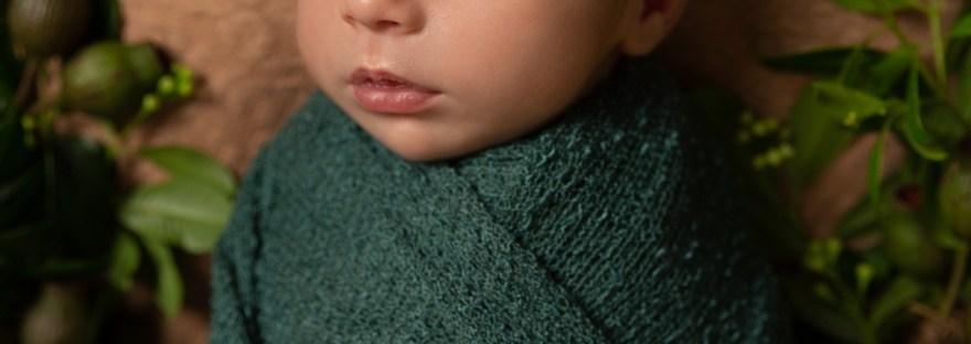 Nature Inspired Newborn Photography