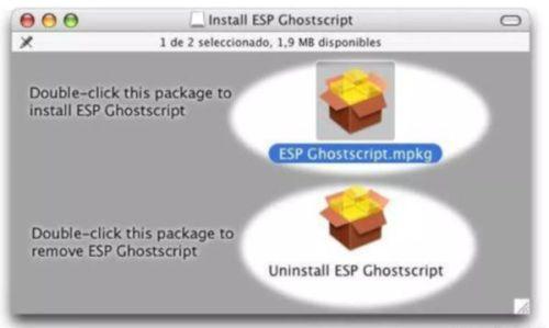 ghosxcript mac
