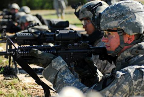 Soldats américains