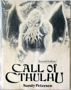 Call of cthulhu (seconde Edition)