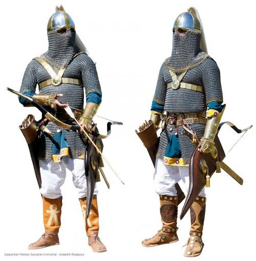 Archer sassanide