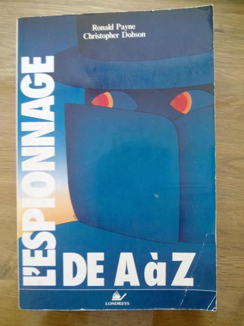 L'espionnage de A à Z de Ronald Payne et Christopher Dobson