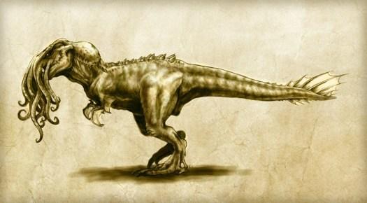 Cthulhusaurus Rex ©2013 ~Cthulhusaurus-Rex