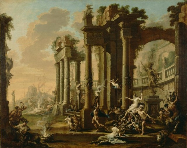 Alessandro Magnasco [Italian (Genoese), 1667 - 1749], The Triumph of Venus, Italian, about 1720 - 1730, Oil on canvas