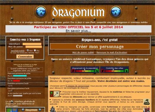 Dragonium, jeu de rôle en ligne gratuit (WMORPGMMORPG)