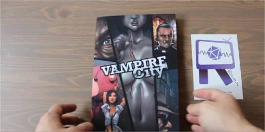 Ouverutre ludique - Vampire City - Vidéo Dailymotion - Mozilla Firefox