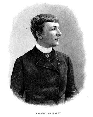 Jane Henriette Dieulafoy, née Magre