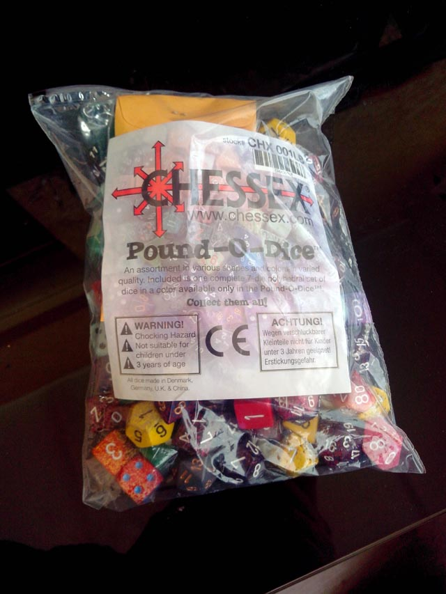 Pound-O-Dice Chessex