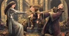 Brève de fantasy - Partage de butin