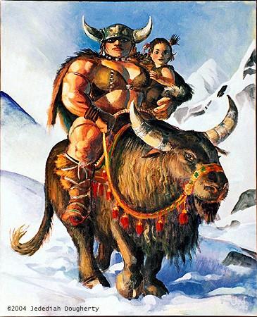 Barbarian Mom