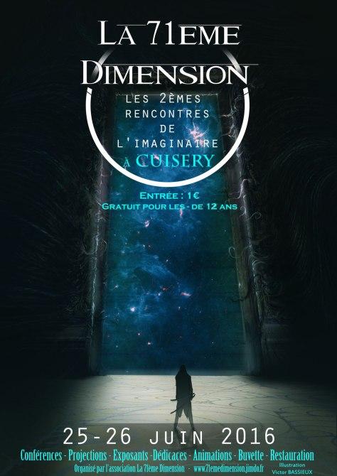 La 71ème Dimension - Les 2èmes rencontres de l'imaginaire