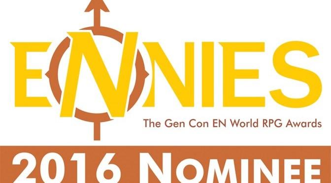 ENnies Award 2016 – et les gagnants sont…