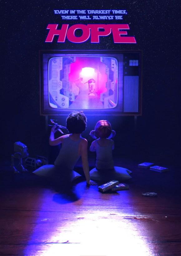 Hope: Princess Leia Tribute