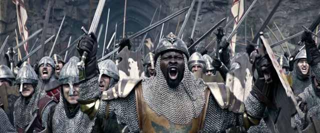 Avec Djimon Hounsou dans le rôle de Bédivère