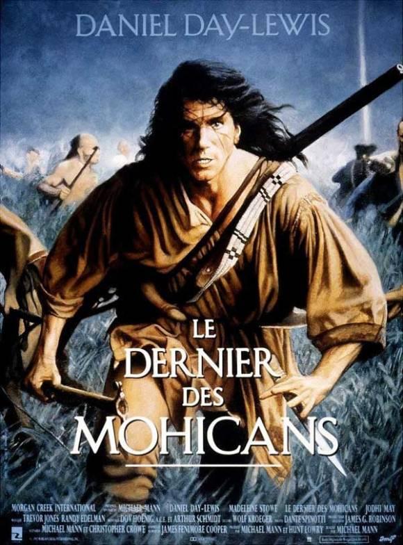 Le Dernier des Mohicans l'affiche du film