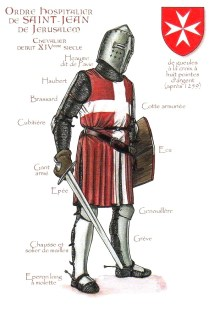 Un Hospitalier (avec une épée)