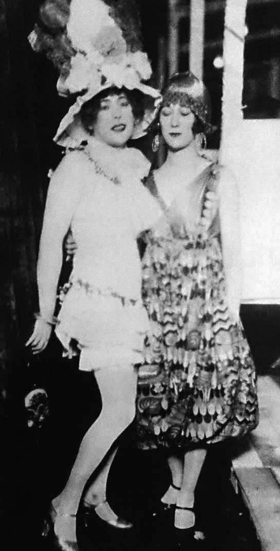 Lili Elbe et Elna Tegner