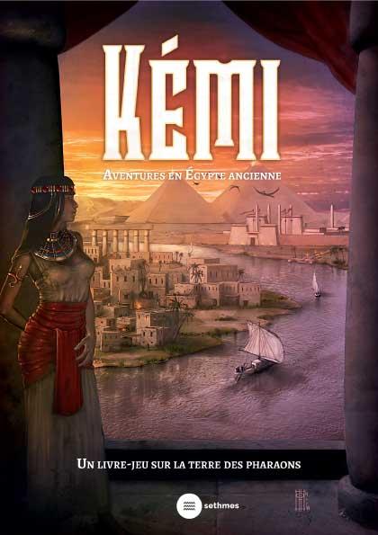 Un livre jeu sur la Terre des Pharaons